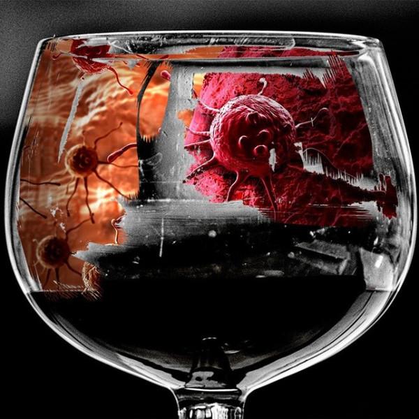 Картинка анонса статьи Вызывает ли алкоголь рак?