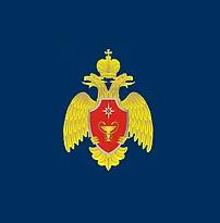 Логотип медицинского учреждения 72 центральная поликлиника МЧС России